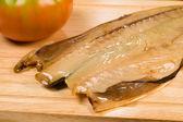 Dried mackerel — Stock Photo