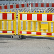 Stock Photo: Pedestrian Barrier