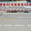 Stock Photo: Pedestrian Barrier2