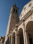 Cathedral of Santa Maria dell'Assunta in Spoleto — Foto de Stock