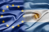 EU and Argentina — Stock Photo