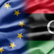 EU and Libya — Foto Stock