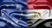 Eu und ägypten — Stockfoto