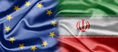 EU and Iran — Stock Photo