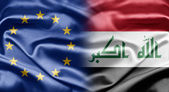 EU and Iraq — Stock Photo
