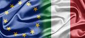Eu en italië — Stockfoto