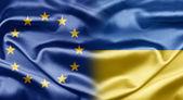 EU and Ukraine — Stock Photo
