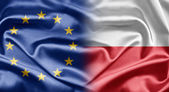 EU and Poland — Stock Photo