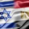 Israel and Egypt — Foto Stock