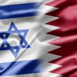 Israel and Qatar — Stock Photo