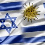 Постер, плакат: Israel and Uruguay