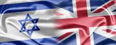 Israel and United Kingdom — Stock Photo