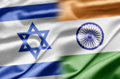 Israel and India — Stock Photo
