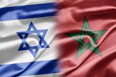Israel och marocko — Stockfoto