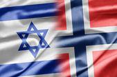 Israel och norge — Stockfoto