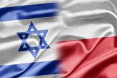 Israel och polen — Stockfoto