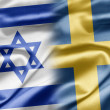 Israel and Sweden - Stockfoto