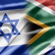 Israel and South Africa - 图库照片