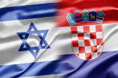 Israel och kroatien — Stockfoto
