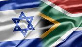 Izrael i republika południowej afryki — Zdjęcie stockowe