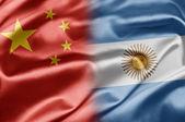 Kina och argentina — Stockfoto