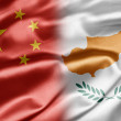 China and Cyprus - Stock Photo