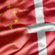 China and Denmark — Stock Photo