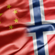 China and Norway — Foto Stock