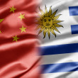 China and Uruguay — Stock Photo