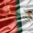 China and Mexico — Foto Stock