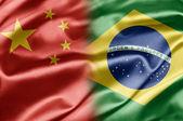 China and Brazil — Stock Photo