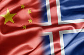 China and Iceland — Stock Photo