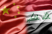 China and Iraq — Stock Photo