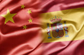 China and Spain — Stock Photo