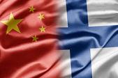 China and Finland — Fotografia Stock