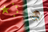 China y méxico — Foto de Stock