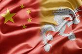 China and Bhutan — Stock Photo