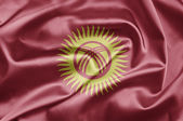 Bandiera del kirghizistan — Foto Stock