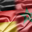 Germany and Morocco - Stock Photo