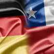 Germany and Chile — Stockfoto