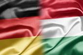 Germania e ungheria — Foto Stock