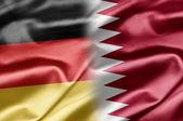 Tyskland och qatar — Stockfoto