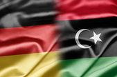 Tyskland och libyen — Stockfoto