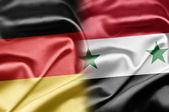 Tyskland och syrien — Stockfoto