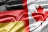 Duitsland en canada — Stockfoto