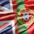 UK and Portugal - Stock Photo