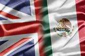 Reino Unido e México — Fotografia Stock