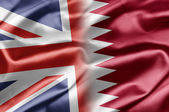 UK and Qatar — Foto Stock