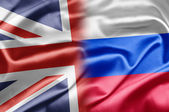 UK and Russia — Stock Photo