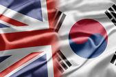 Royaume-Uni et la Corée du Sud — Photo